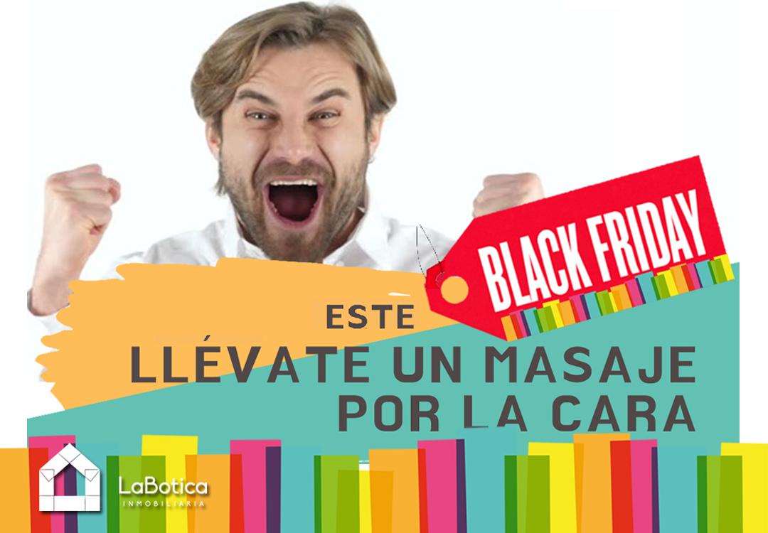 ESTE BLACK FRIDAY LLÉVATE UN MASAJE POR LA CARA